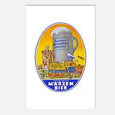 Germany Beer Label 11 Postcards (Package of 8)