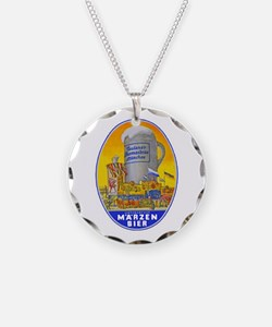 Germany Beer Label 11 Necklace