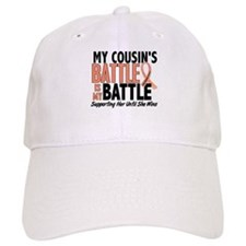 My Battle Too Uterine Cancer Baseball Cap