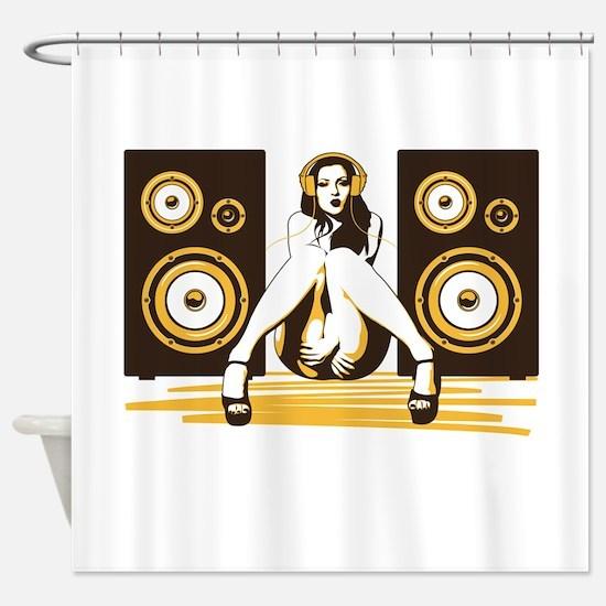 Music Please Shower Curtain