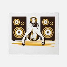 Music Please Throw Blanket