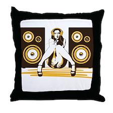 Music Please Throw Pillow