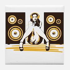 Music Please Tile Coaster