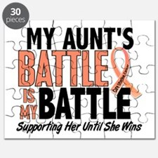 My Battle Too Uterine Cancer Puzzle