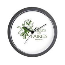All my friends are fairies -  Wall Clock