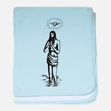 Christianity baby blanket