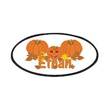 Halloween Pumpkin Ethan Patches