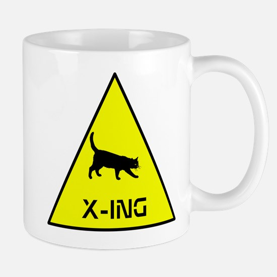 Kitty Crossing Mug
