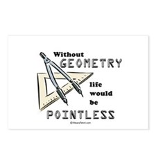 Without geometry, life is pointless -  Postcards (