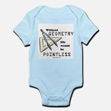 Without geometry, life is pointless -  Infant Cree