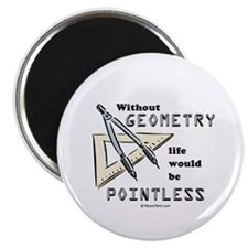 Without geometry, life is pointless - Magnet
