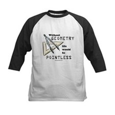 Without geometry, life is pointless -  Tee