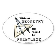 Without geometry, life is pointless - Decal