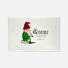 Gnome thyself - Rectangle Magnet