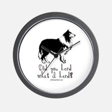 Did you herd what I herd? -  Wall Clock