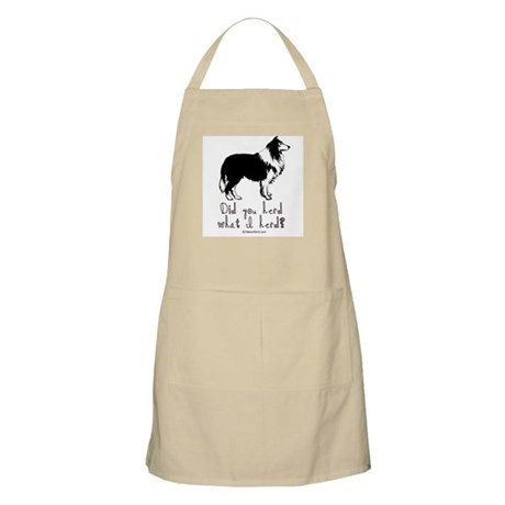 Did you herd what I herd? - BBQ Apron