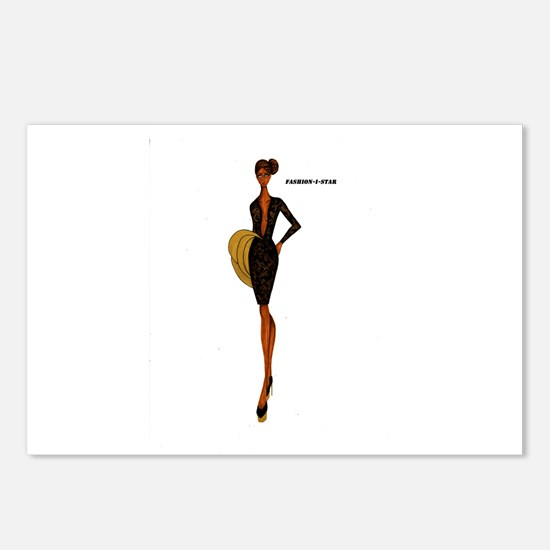 Fashion-i-Star Postcards (Package of 8)
