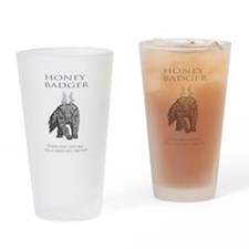 HELL BADGER Drinking Glass