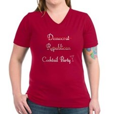 Democrat Republican Cocktail Party Shirt