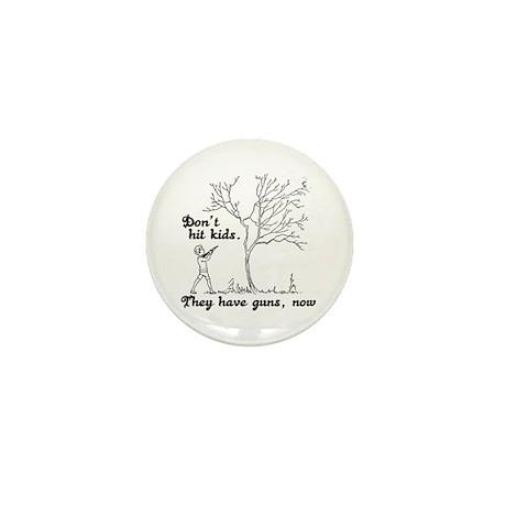 Don't hit kids - Mini Button (10 pack)