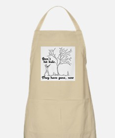 Don't hit kids -  BBQ Apron