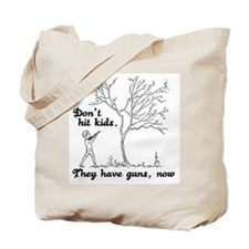 Don't hit kids -  Tote Bag