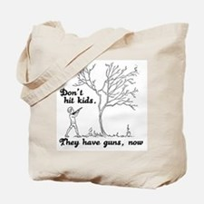 Don't hit kids -  Tote Bag