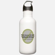 Mental Slavery Water Bottle