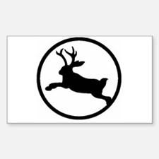 Jackalope Sticker (Rectangle)