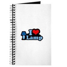 I heart lamp - Journal