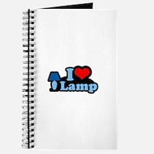 I heart lamp - Journal