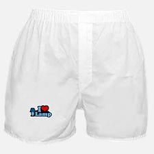 I heart lamp -  Boxer Shorts