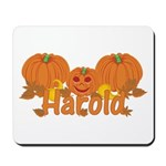 Halloween Pumpkin Harold Mousepad