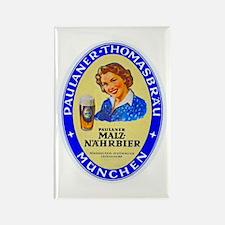 Germany Beer Label 10 Rectangle Magnet