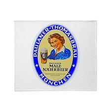 Germany Beer Label 10 Throw Blanket