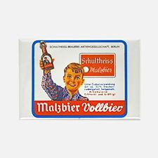 Germany Beer Label 9 Rectangle Magnet