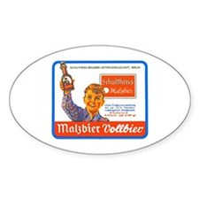Germany Beer Label 9 Decal