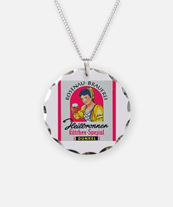 Germany Beer Label 5 Necklace