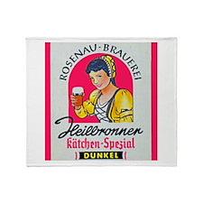 Germany Beer Label 5 Throw Blanket