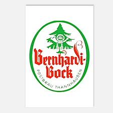 Germany Beer Label 4 Postcards (Package of 8)