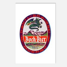 Germany Beer Label 3 Postcards (Package of 8)
