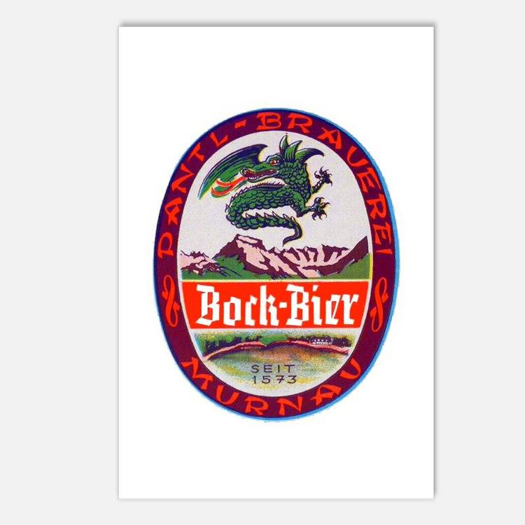 Germany Beer Label 3 Postcards (Package of 8)