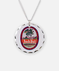 Germany Beer Label 3 Necklace