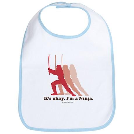 It's okay, I'm a Ninja - Bib