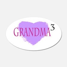 Grandma to the Third Power Wall Decal