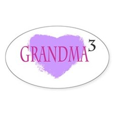 Grandma to the Third Power Decal