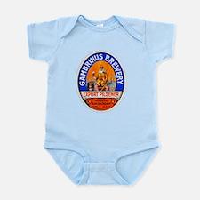 Holland Beer Label 8 Infant Bodysuit