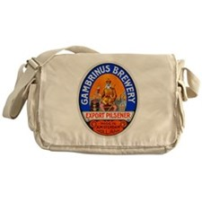 Holland Beer Label 8 Messenger Bag