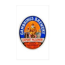 Holland Beer Label 8 Decal