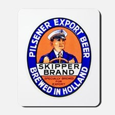 Holland Beer Label 4 Mousepad